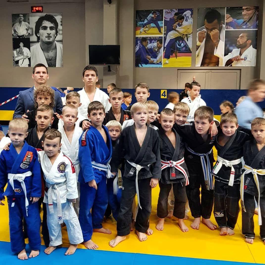 Школа бразильского джиу - джитсу в Одессе